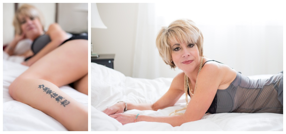 Mature Boudoir photography in nanaimo bc