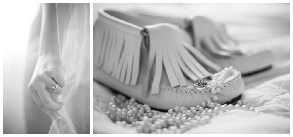 Nanaimo boudoir photography - ring and other bridal details