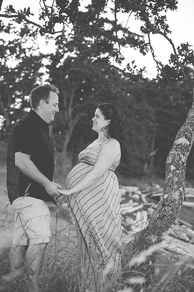 Maternity Portraits in Nanaimo