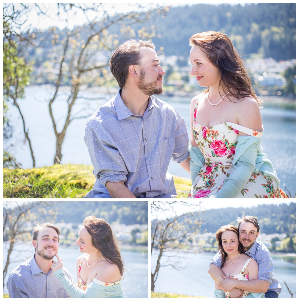 Engagement sessions in Nanaimo at Neck Point Park