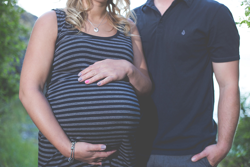 Pipers Maternity couples session
