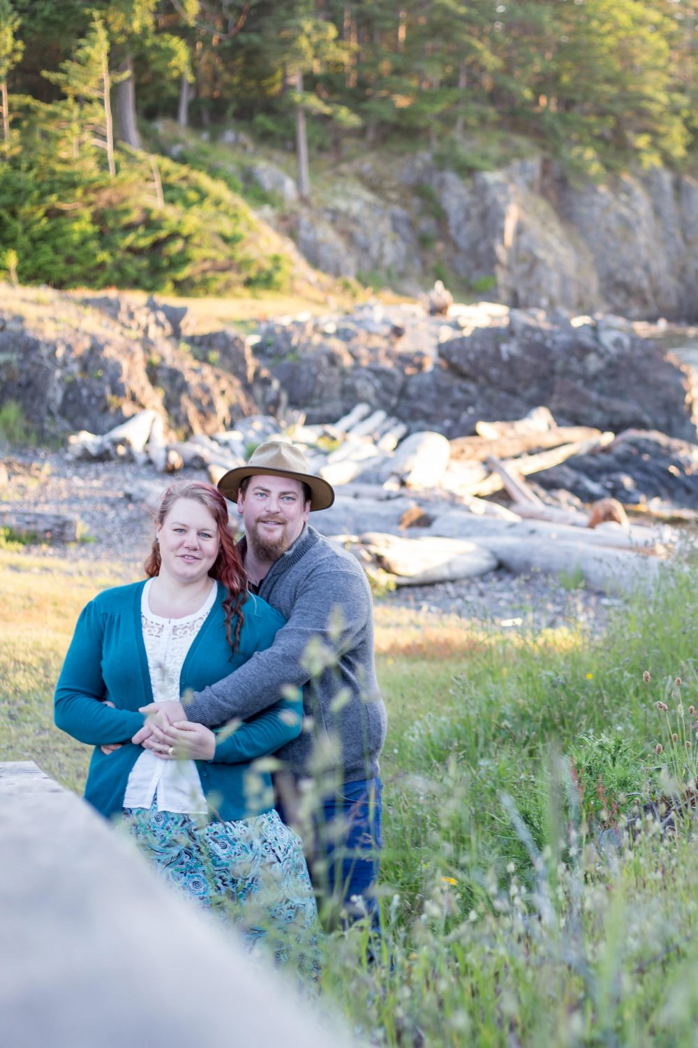 Kristina & Corbin's Neck Point Engagement ♥ Nanaimo Wedding Photographer