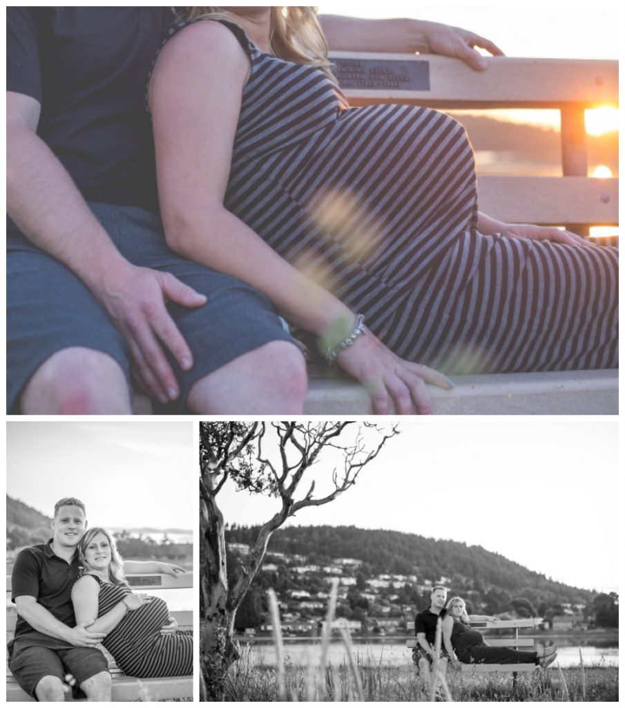 maternity photographs at pipers lagoon park in nanaimo